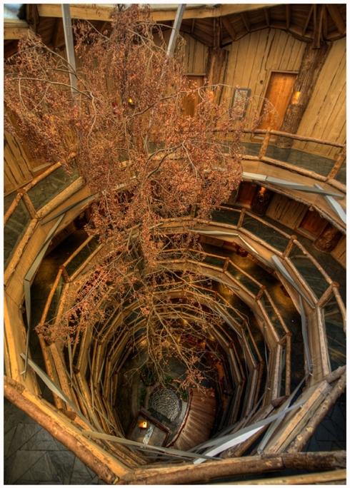 Interior del Baobab Hotel&Spa