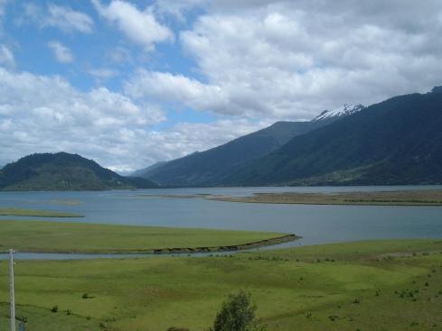 Fiordos en el parque Pumalín